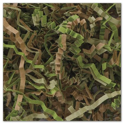 Camouflage Blend Crinkle Cut Fill, 10 lb. Box