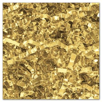 Gold PureMetallicTM Crinkle Cut Shred, 5 lb. Box