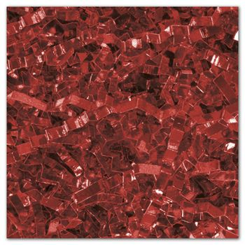 Red PureMetallicTM Crinkle Cut Shred, 5 lb. Box
