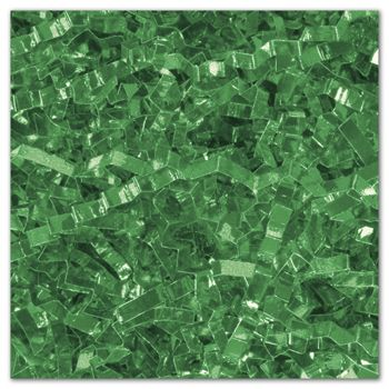 Green PureMetallicTM Crinkle Cut Shred, 5 lb. Box