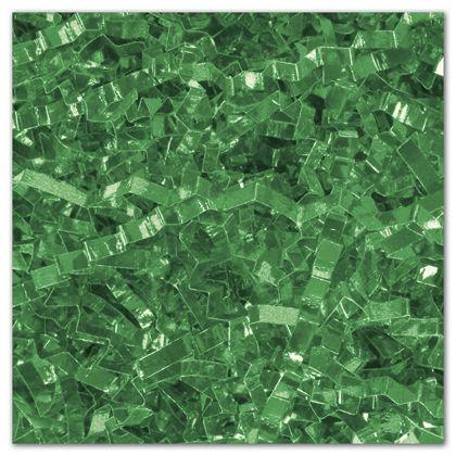 Green PureMetallicTM Crinkle Cut Shred, 5 lb. Box