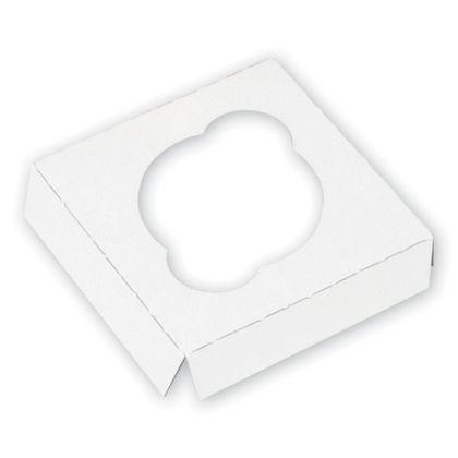 White Standard Cupcake Platforms, 1 Cupcake