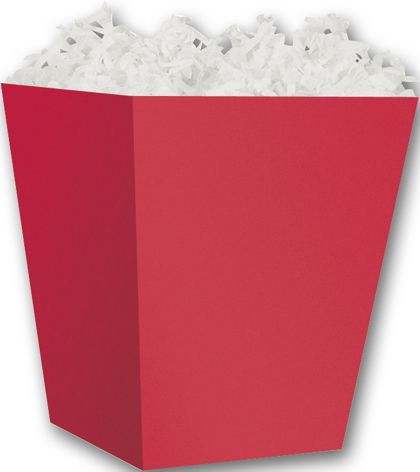 Red Sweet Treat Boxes, 4 x 4 x 4 1/2""