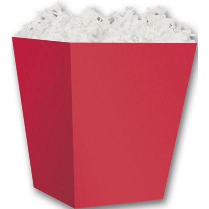 """Red Sweet Treat Boxes, 4 x 4 x 4 1/2"""""""