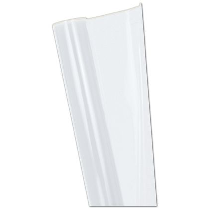 "Clear Polypropylene Film Rolls, 24"" x 100'"