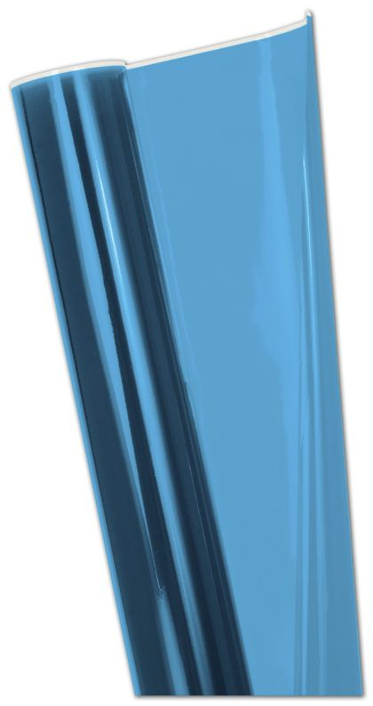 "Blue Polypropylene Film Rolls, 30"" x 100'"