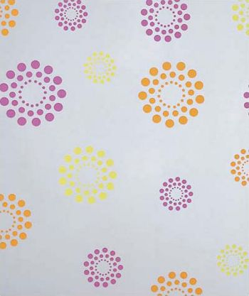 Blooming Dots Polypropylene Film Rolls, 30