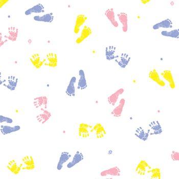 Baby Prints Polypropylene Film Rolls, 30