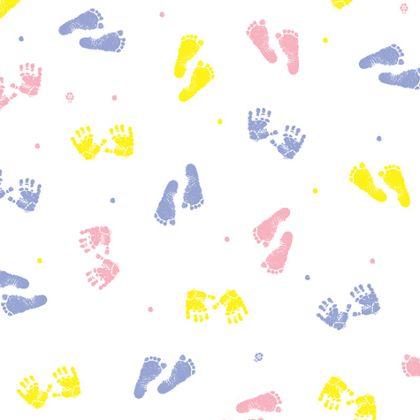 "Baby Prints Polypropylene Film Rolls, 30"" x 100'"