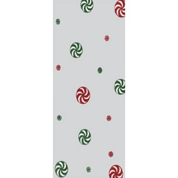 Christmas Mint Polypropylene Film Rolls, 30