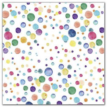 Watercolor Confetti Polypropylene Film Rolls, 30
