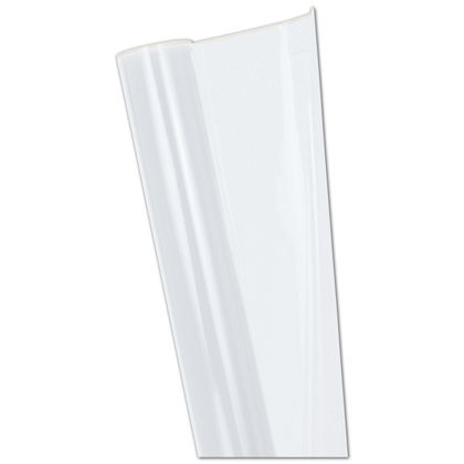 "Clear Polypropylene Film Rolls, 40"" x 100'"
