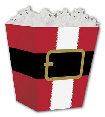 Santa's Belt Sweet Treat Boxes, 4 x 4 x 4 1/2
