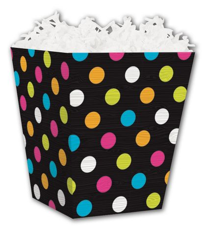 Dazzling Dots Sweet Treat Boxes, 4 x 4 x 4 1/2""