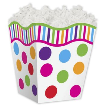 Gumballs Sweet Treat Boxes, 4 x 4 x 4 1/2