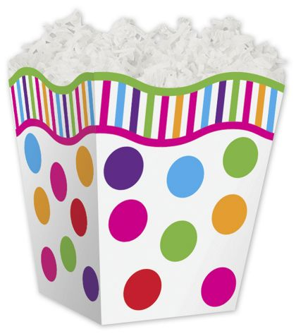 Gumballs Sweet Treat Boxes, 4 x 4 x 4 1/2""