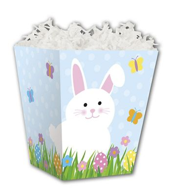 Happy Easter Sweet Treat Boxes, 4 x 4 x 4 1/2