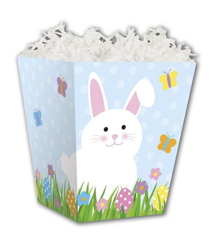 Happy Easter Sweet Treat Boxes, 4 x 4 x 4 1/2""
