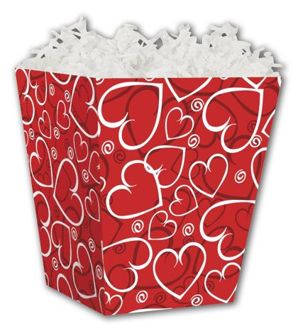 Sassy Hearts Sweet Treat Boxes, 4 x 4 x 4 1/2""