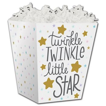 Twinkle Little Star Sweet Treat Boxes, 4 x 4 x 4 1/2