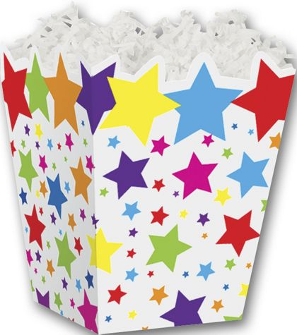 Super Stars Sweet Treat Boxes, 4 x 4 x 4 1/2""