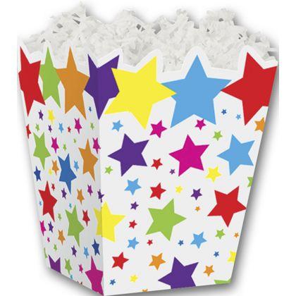 """Super Stars Sweet Treat Boxes, 4 x 4 x 4 1/2"""""""