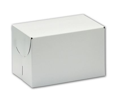 White Two-Piece Boxes, 9 x 9 x 2 3/4""