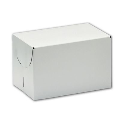 "White Two-Piece Boxes, 9 x 9 x 2 3/4"""