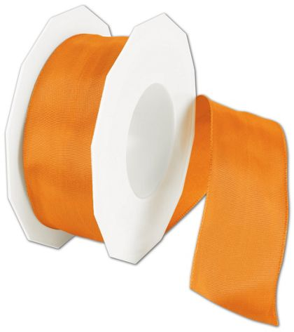 "Wire-Edge Lyon Mandarin Ribbon, 1 1/2"" x 27 Yds"