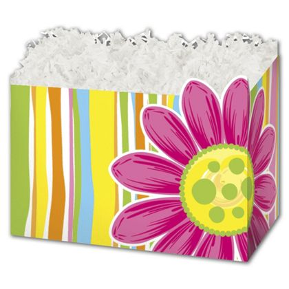"Citrus Garden Gift Basket Boxes, 10 1/4 x 6 x 7 1/2"""