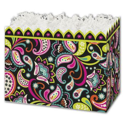 "Woodland Whimsy Gift Basket Boxes, 10 1/4 x 6 x 7 1/2"""