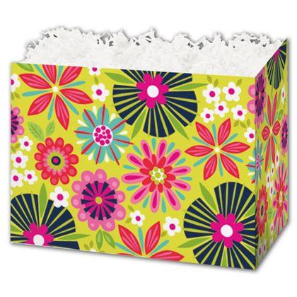 "Bountiful Blooms Gift Basket Boxes, 6 3/4 x 4 x 5"""