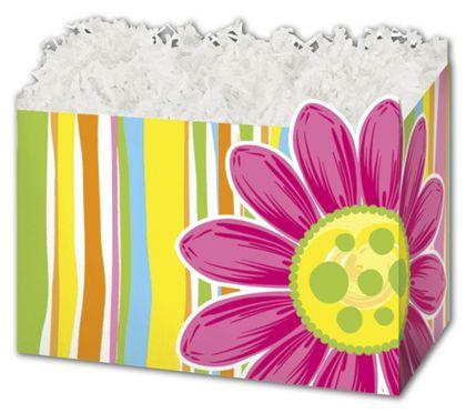 "Citrus Garden Gift Basket Boxes, 6 3/4 x 4 x 5"""