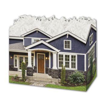 Craftsman Home Gift Basket Boxes, 6 3/4 x 4 x 5