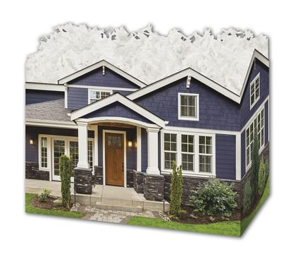 "Craftsman Home Gift Basket Boxes, 6 3/4 x 4 x 5"""