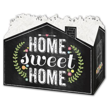 "Chalkboard Home Gift Basket Boxes, 6 3/4 x 4 x 5"""