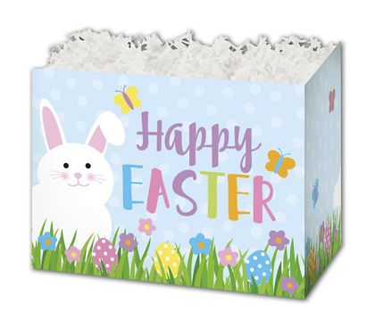 """Happy Easter Gift Basket Boxes, 6 3/4 x 4 x 5"""""""