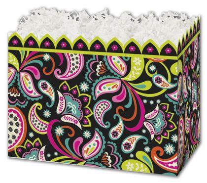 "Woodland Whimsy Gift Basket Boxes, 6 3/4 x 4 x 5"""