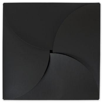 Black Gift Card Folders, 6 x 6