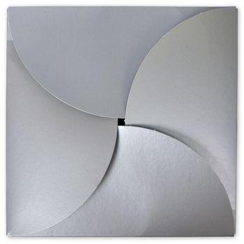 Silver Gift Card Folders, 6 x 6
