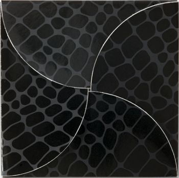 Black Croc Gift Card Folders, 6 x 6