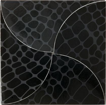 "Black Croc Gift Card Folders, 6 x 6"""