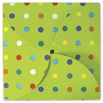 Party Dots Gift Card Folders, 6 x 6