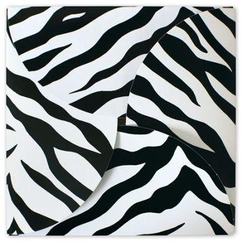 Zebra Gift Card Folders, 6 x 6