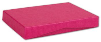 Pink Ribbed Pop-Up Gift Card Boxes, 4 5/8 x 3 3/8 x 5/8