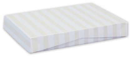 Pearl Stripe Pop-Up Gift Card Boxes, 4 5/8 x 3 3/8 x 5/8""