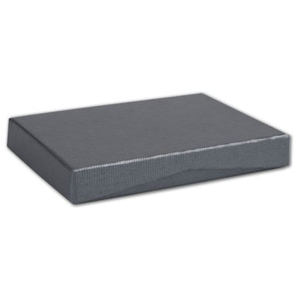 Slate Ribbed Pop-Up Gift Card Boxes, 4 5/8 x 3 3/8 x 5/8