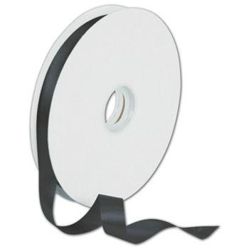 Dyna Black Satin Ribbon, 5/8