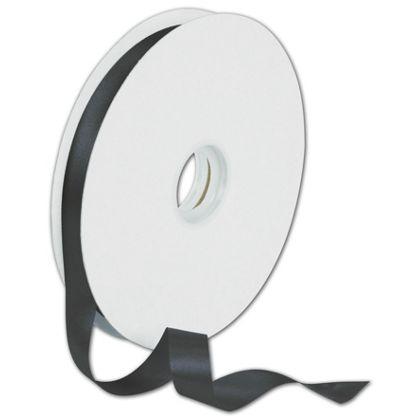 """Dyna Black Satin Ribbon, 5/8"""" x 100 Yds"""