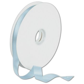 Dyna Light Blue Satin Ribbon, 5/8